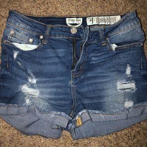Indigo Rein jean shorts